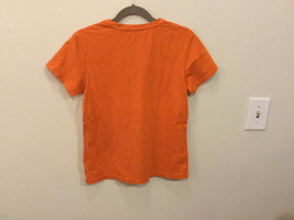 J.Crew Bright Orange T-Shirt Top with one pocket, NO Size tag (see measures) image 3