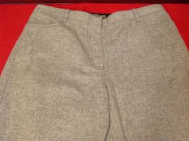 J. Crew Heather Gray Ladies Long Dress Pants Size P10 image 3