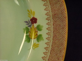"Adams Lowestoft 7 8"" salad plates  Calyxware English Ironstone China image 3"