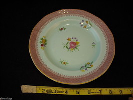 "Adams Lowestoft 7 8"" salad plates  Calyxware English Ironstone China image 2"
