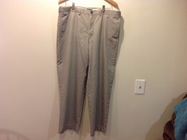 Lands End Men's Gray Dress Slacks Traditional Fit image 1