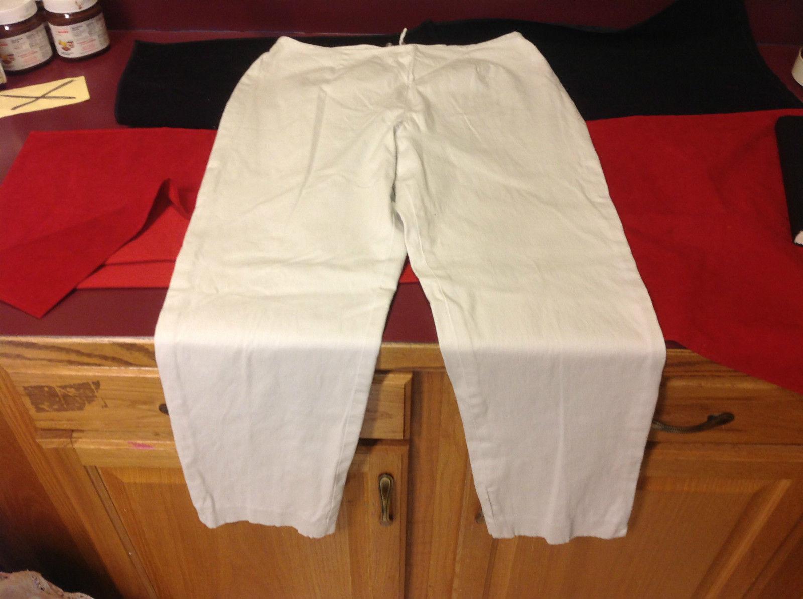 Lands End Ladies Khaki Pants Size 12 Regular
