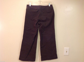 J.Crew Womens Cropped Faded Black Cotton Jeans Pants, Size 6 image 2