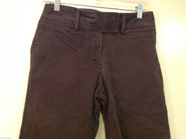 J.Crew Womens Cropped Faded Black Cotton Jeans Pants, Size 6 image 3
