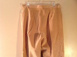 J McLaughlin Size 12 Light Brown Corduroy Pants Made in USA Good Condition image 5
