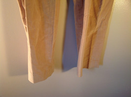 J McLaughlin Size 12 Light Brown Corduroy Pants Made in USA Good Condition image 4