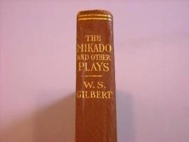 Mikado Pirates Penzance Other Plays book Gilbert 1917