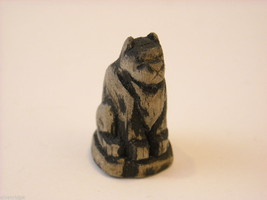 Miniature Hand Carved Cat