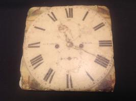 Ja Anderfon Wrst Haven Old World Clock Coaster Set of Four image 6