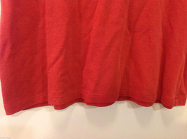 JM Woman Collection Stretch Calm Red Scoop Neck Classic T-shirt, Size 1X image 6
