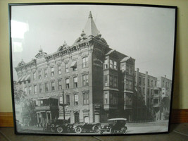 Large Framed Reproduction of Photo of Nelson House Hotel Poughkeepsie NY