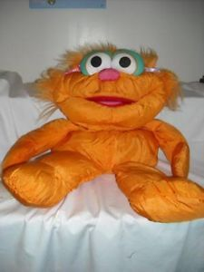 Large Sesame Street's Zoe Stuffed Toy