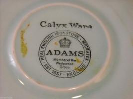Adams modern issue  Lowestoft  tea cups  saucers CalyxWare Ironstone image 7