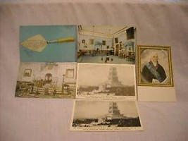 Mixed lot 6 vintage postcards Washington DC