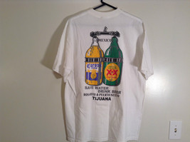 Jerzees Cerveza Mexicana Mexican Beer White Graphic Short Sleeve T Shirt Size XL image 5