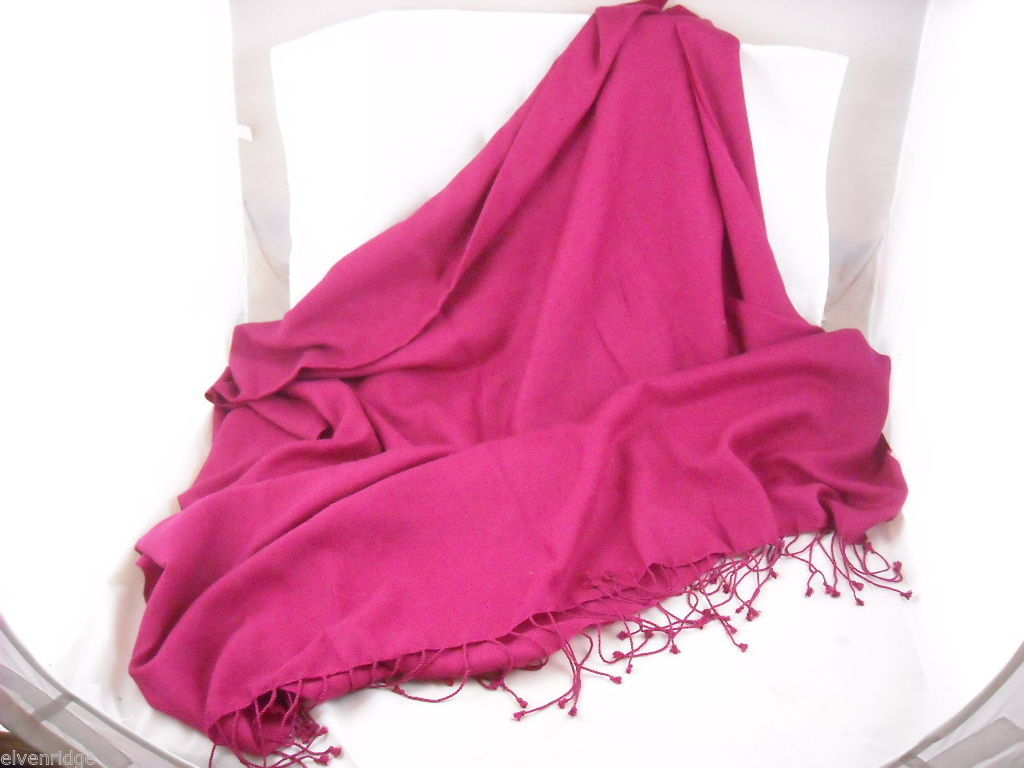 Large very Soft  Magenta Wrap