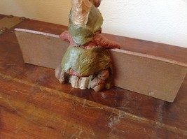 Adorable Figurine of Rustic Nature Loving Gnome Tom Clarks Creations image 4