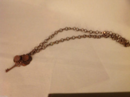 Jewelry designer Kathryn Colson necklace copper key steampunk from elfworkslane image 4