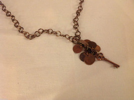 Jewelry designer Kathryn Colson necklace copper key steampunk from elfworkslane image 3