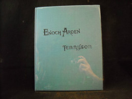 Museum Quality Restoration 1888 Antique Book Enoch Arden by Tennyson Illustrated
