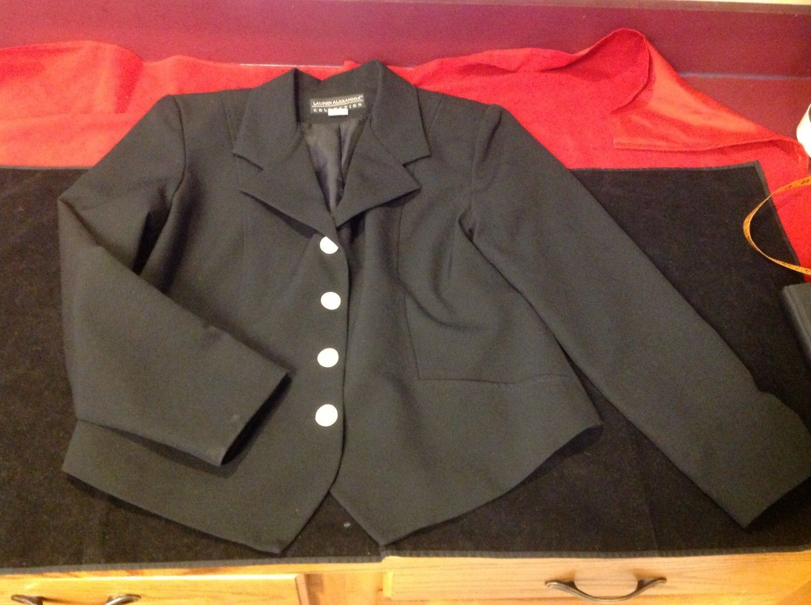 Lauren Alexandra Collection black Blazer size 10