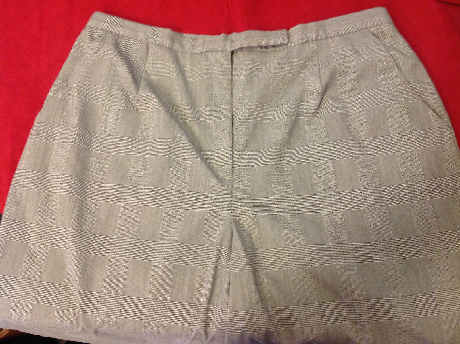 Laura Scott Heather Gray Ladies Pants Size 18