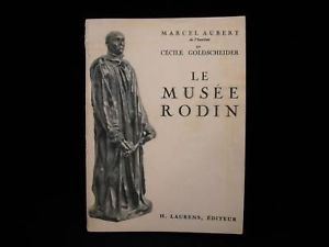 Le Musee Rodin Museum  Book vintage