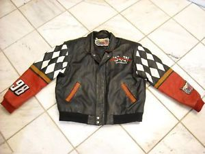 Leather Jacket Jeff Hamilton Collection Cale Yarborough