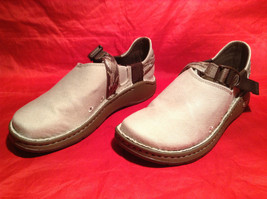 NEW Chaco Tan Loafers with Straps Rubber Sole No Size Measurements Below