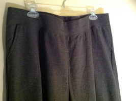 Just My Size Dark Gray Sweatpants with Two Pockets Elastic Waistband Size 2X image 2