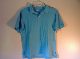 Light Blue L L Bean Size Large 14 to 16 Short Sleeve Polo Shirt