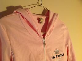 Kavio Pink Los Angeles Zip Up Long Sleeves Hoodie Jacket Size Small image 2