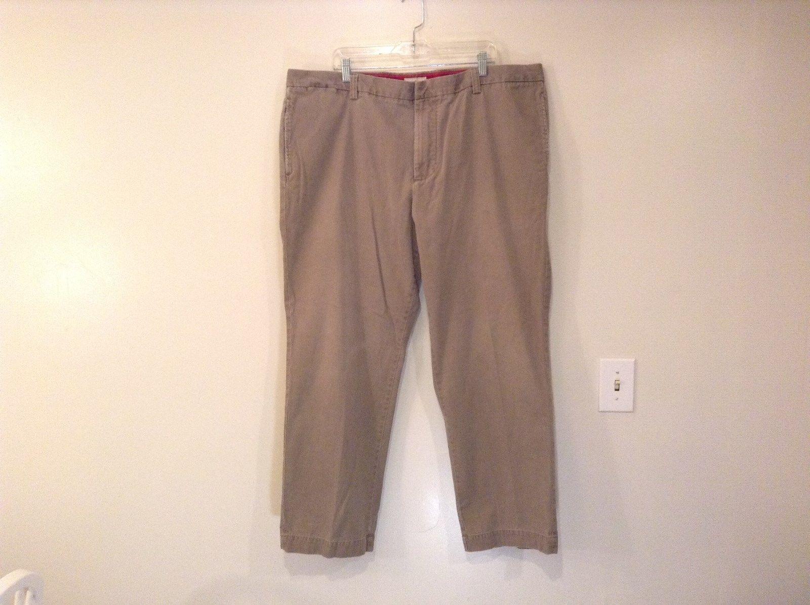 Light Brown Beige 100 Percent Cotton Dockers Casual Pants Size W44 L32