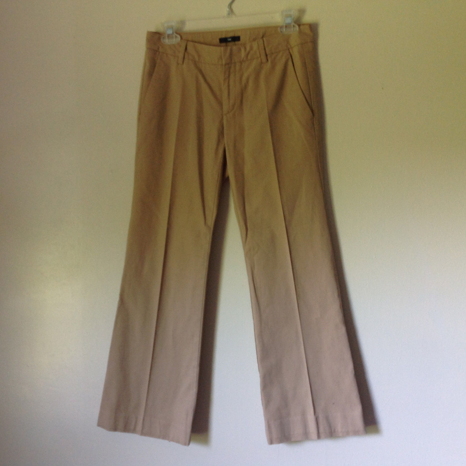 Light Brown Casual Pants by GAP Size 00 Regular Front Back Pockets Belt Loops