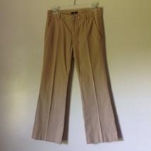 Light Brown Casual Pants by GAP Size 00 Regular Front Back Pockets Belt Loops image 1