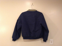 King Louie Navy Blue Jacket Green Collar Size L Parks and Recreation embroidered image 2
