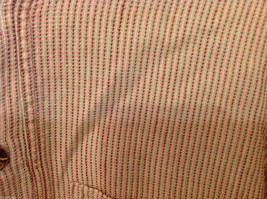 Kumbaya Mens short sleeve casual shirt multicolored stripes, size 40 image 4