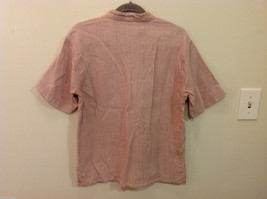 Kumbaya Mens short sleeve casual shirt multicolored stripes, size 40 image 5