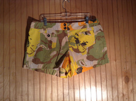 New York and Company Colorful Shorts 100 Percent Cotton Mini Shorts Size 14