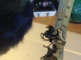 Micro miniature small hand blown glass flying horse pegasus USA made NIB image 7