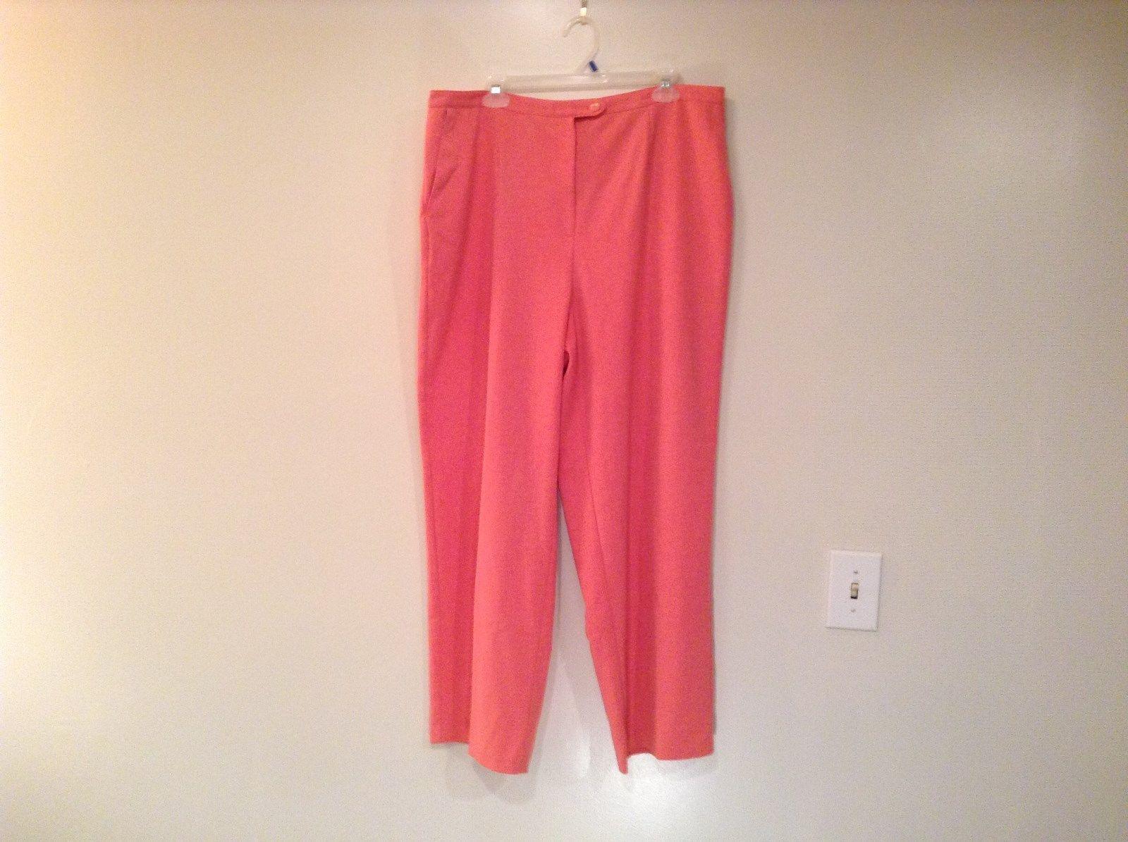 Light Pink Sag Harbor Stretch Casual Pants No Size Tag Measurements Below