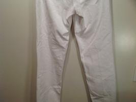 L L Bean 100 Percent Cotton Size 6M White Jeans Front and Back Pockets image 8