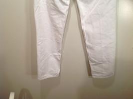 L L Bean 100 Percent Cotton Size 6M White Jeans Front and Back Pockets image 9