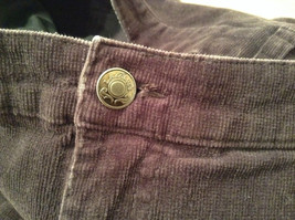 L A Blues Velvet Dark Brown Jeans Size 18W Button and Zipper Closure Pockets image 9