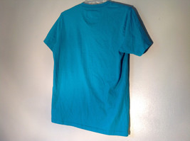 Aeropostale in White Letters on Green Short Sleeve T-Shirt Plain Back Size Small image 6