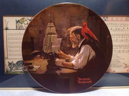 Norman Rockwell Ship Builder Collectors Plate Fine American China Limited Editio