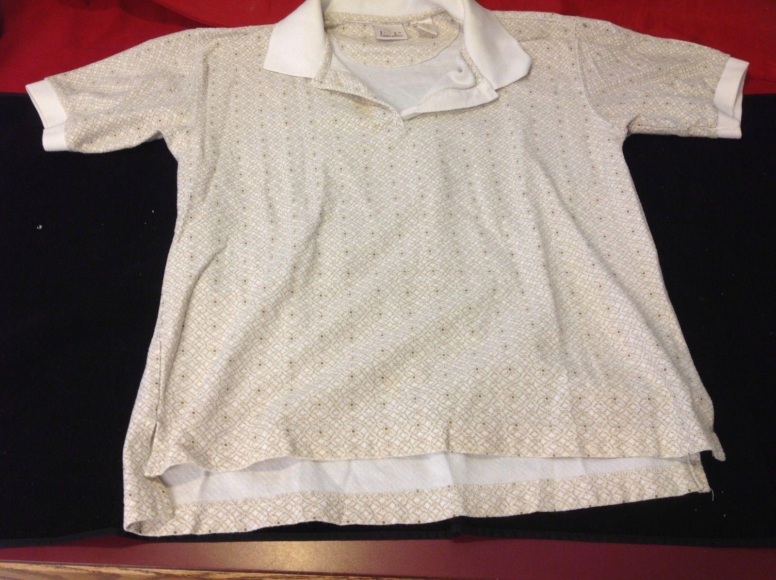 Light brown Man's polo shirt size small