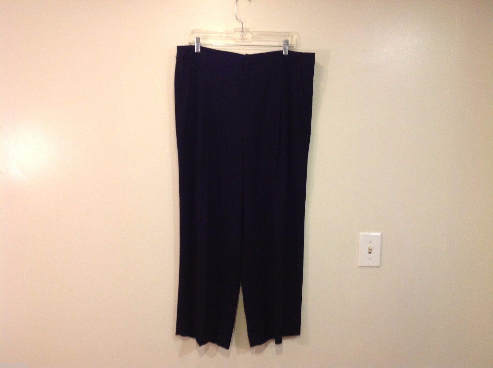 Linda Allard Ellen Tracy Size 16 black dressy  pants