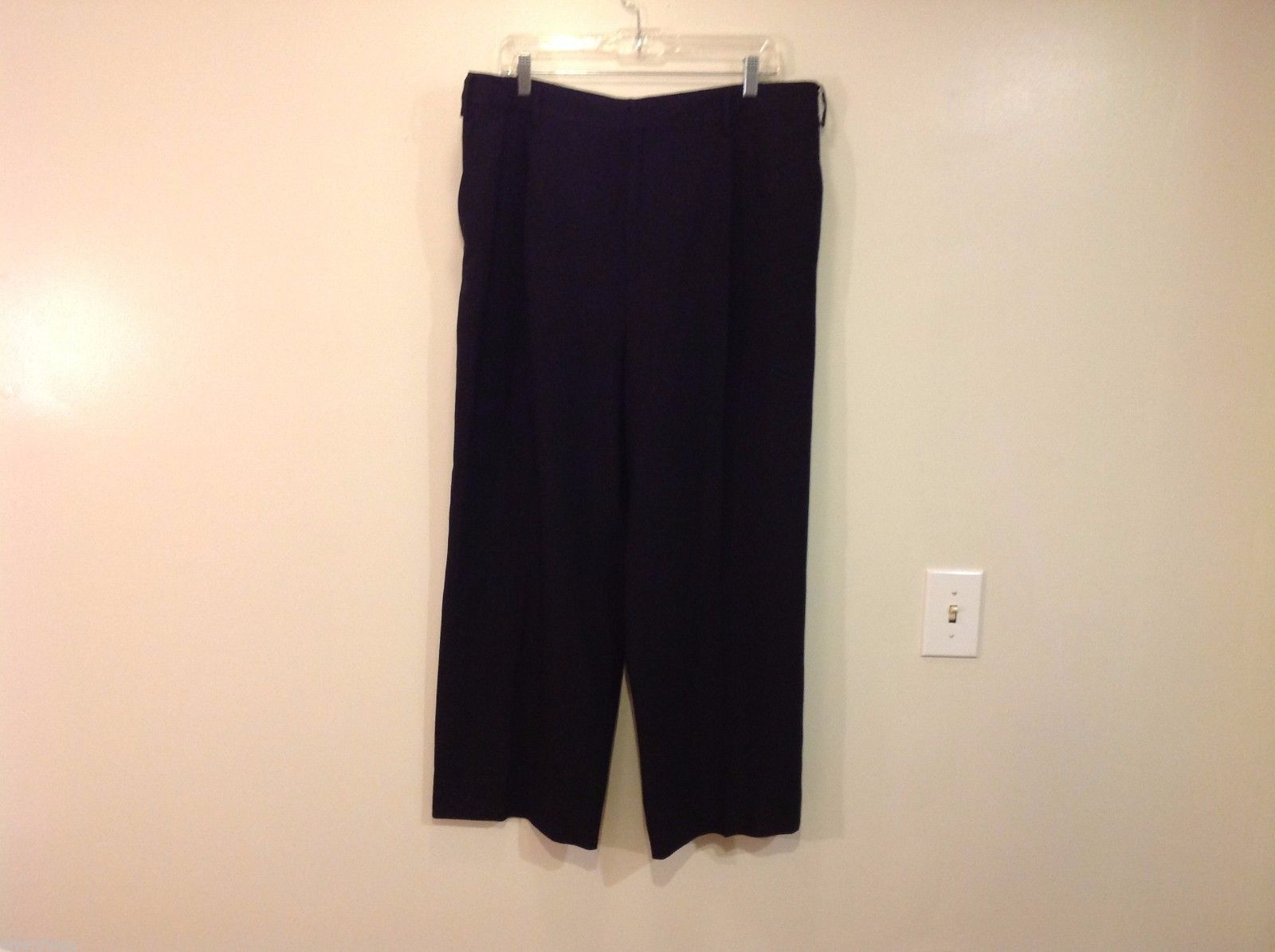Linda Allard Ellen Tracy size 16 Black Pants