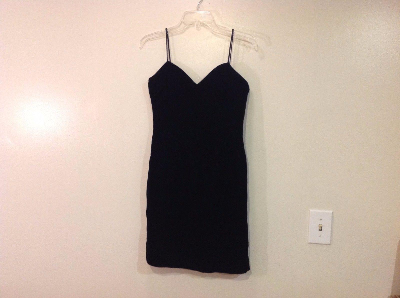 Little Black Velvet Evening Dress CDC Evening No Size Tage